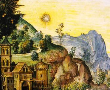 Факты появления нло в средние века