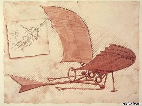 Леонардо да Винчи, возможно,